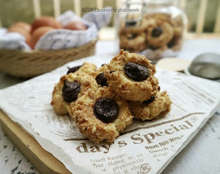 Ide Resep Kue Kering Choconuts Thumbprint Cookies