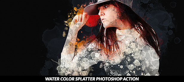 Soot Photoshop Action