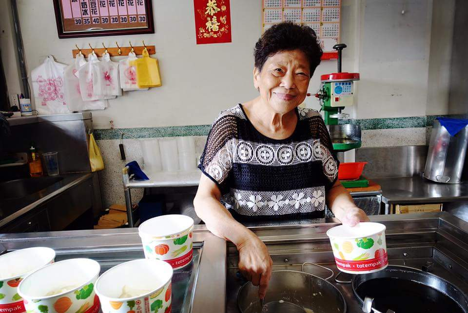 《雲林土庫-幸福豆花館》阿婆古早味豆花,聽說是土庫商工學生的最愛