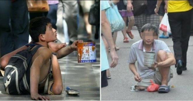 တရုတ္ျပည္ရွိ သူေတာင္းစားမ်ား တစ္ရက္လွ်င္ ၆၃ ေဒၚလာ (ျမန္မာေငြ ၉၉၀၀၀ ခန္႔)ဝင္ေငြ႐ွိေန
