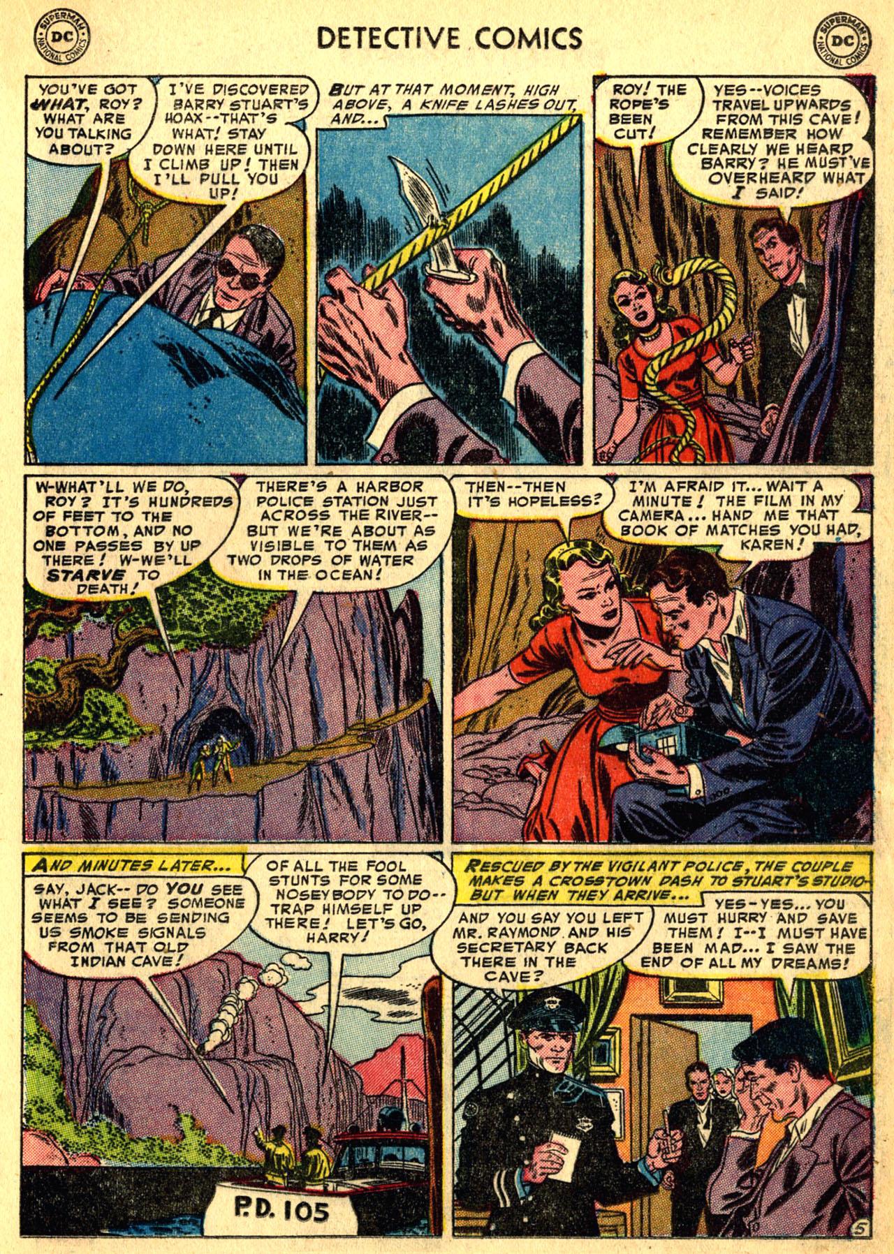 Read online Detective Comics (1937) comic -  Issue #205 - 21