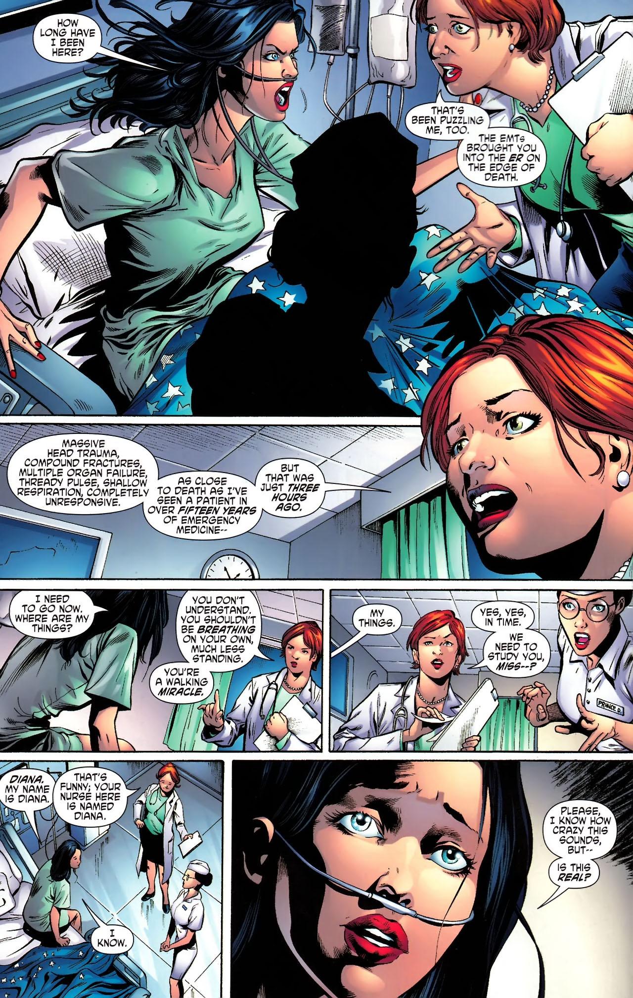 Read online Wonder Woman (2006) comic -  Issue #610 - 5