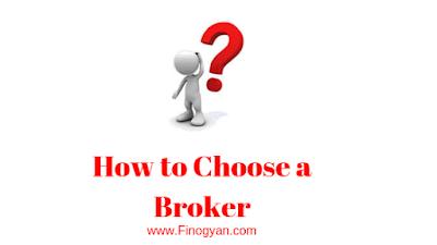 How to choose stock Broker
