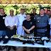 Policiais civis e militares participam de demonstração de novos fuzis T4 da Taurus