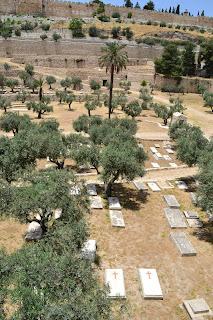 terra santa jerusalem - cemiterio judaico