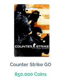 Premio de Counter Strike GO