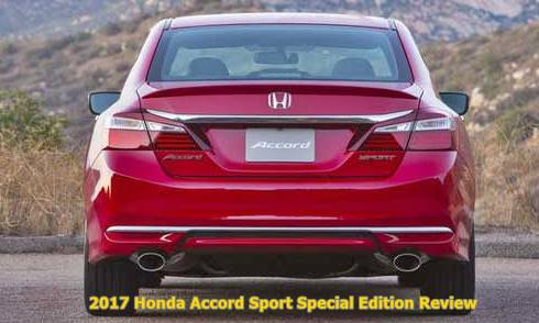 2017 Honda Accord Sport Special Edition Review