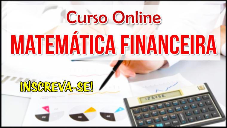 Curso online de Matemática Financeira ministrado por professor da USP