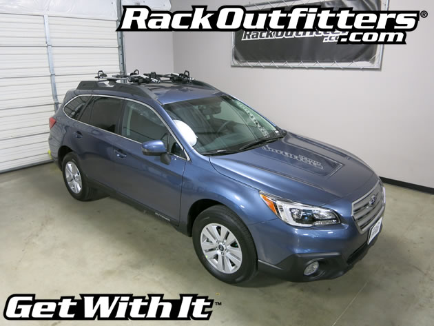 Thule 598 Criterium Bike Mount on Subaru Outback Factory ...