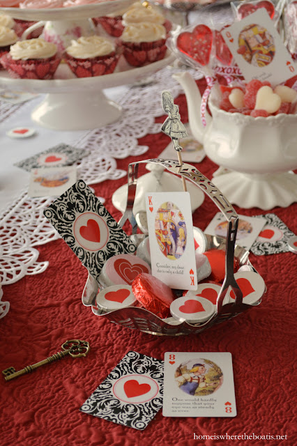 Valentine's Day Alice in Wonderland Tea