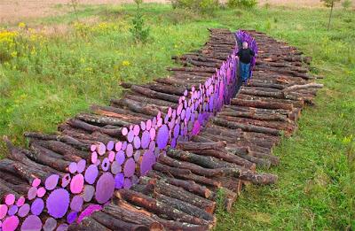 el arte terrestre land art