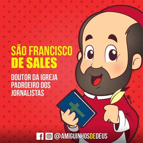 São Francisco de Sales desenho