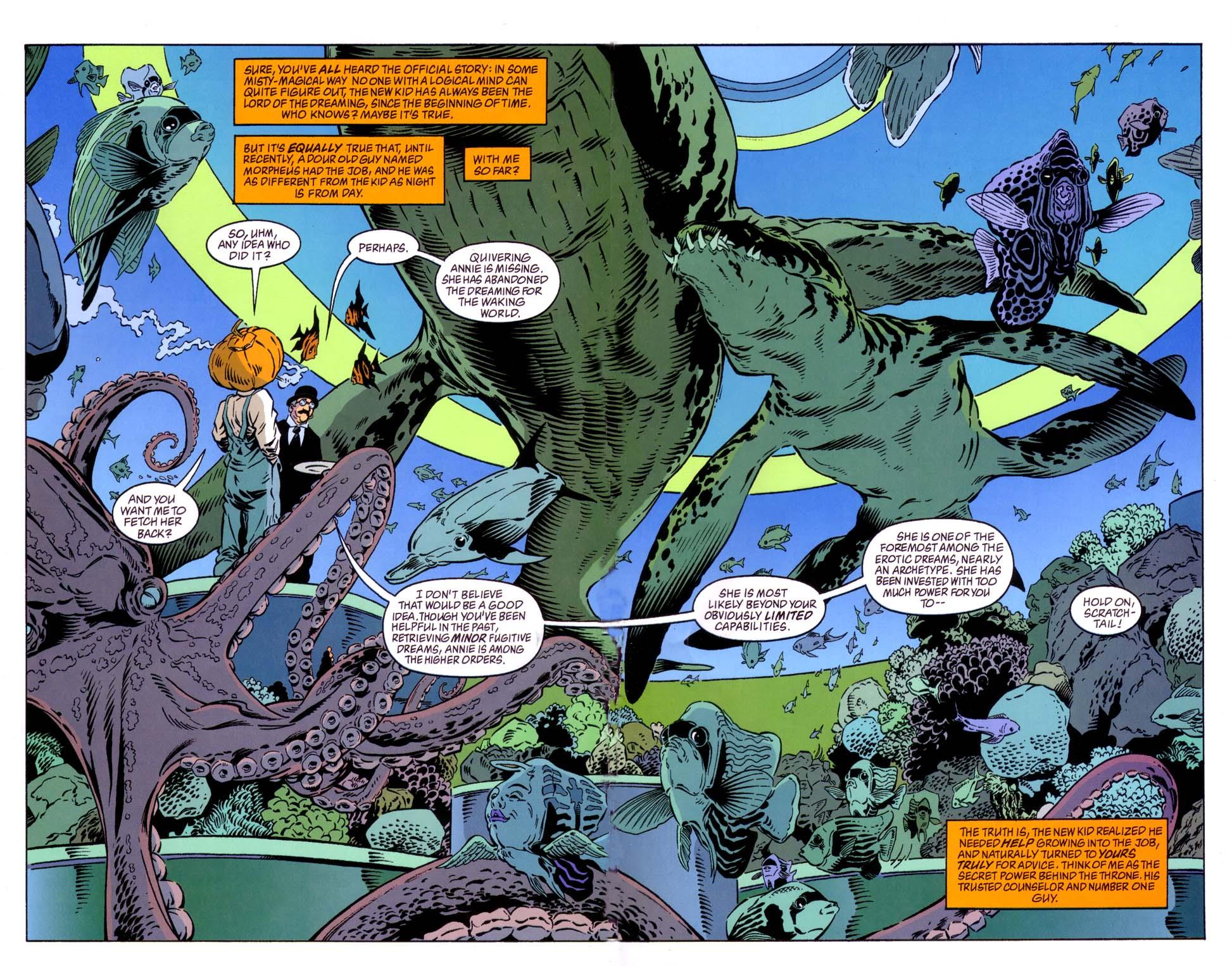Read online Merv Pumpkinhead, Agent of D.R.E.A.M. comic -  Issue # Full - 10