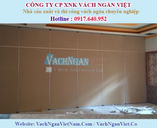 Hình ảnh Vách ngăn di động nhà hàng tại Gò Vấp - HCM