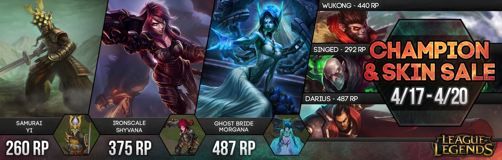 Surrender At 20 Champion And Skin Sale 417 420
