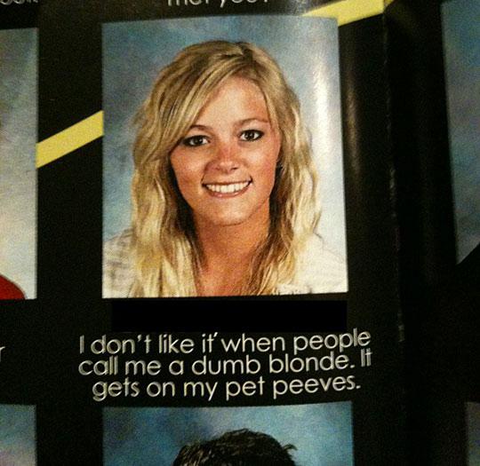 ok blondie