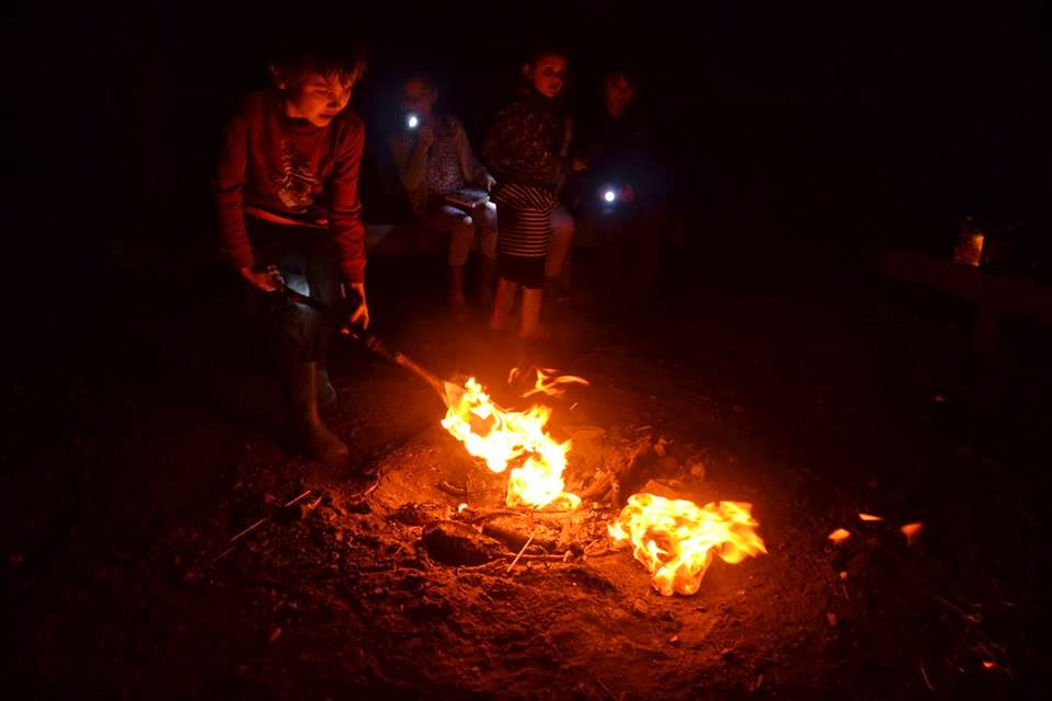, Celebrating The New Year in the Woods #CountryKids