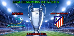 ASTANA VS ATLETICO MADRID