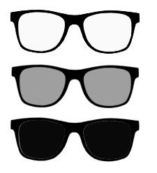 f521cbfb4 O consumidor viu uma propaganda na TV sobre as lentes Xabilix e resolveu ir  as óticas fazer orçamentos. Chegando lá o ótico da loja 1 afirma que tem  Xabilix ...