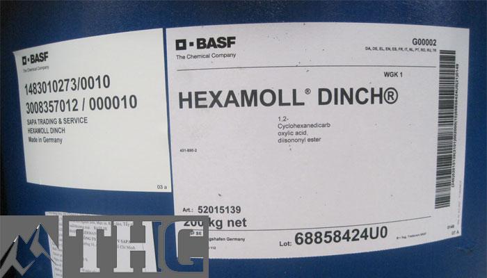 Sản phẩm Hexamoll DINCH chất hóa dẻo sản xuất nhựa thân thiện với môi trường