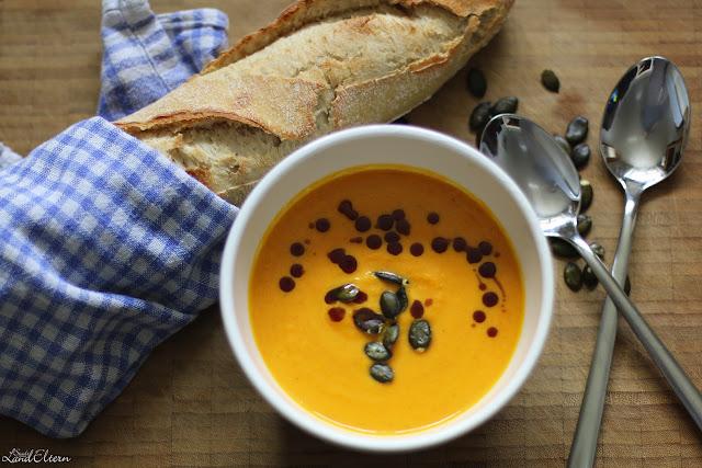Rezept leckere Kürbissuppe