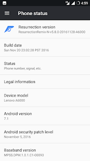 [Custom] [Rom] ResurrectionRemix v5.8.0 for Lenovo A6000/Plus