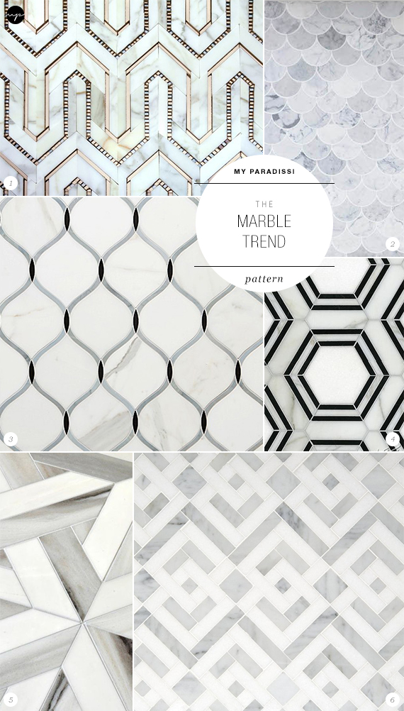 The Marble Trend | Pattern