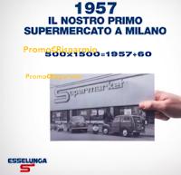 Logo Esselunga compie 60 anni: in palio 1.500 Fiat 500 ?