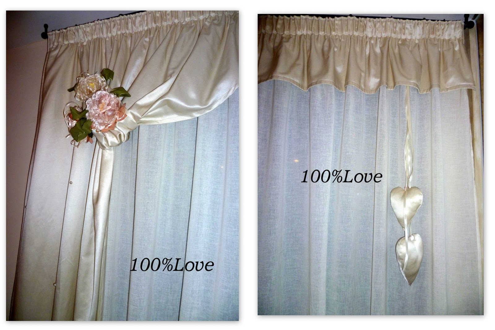 100 love tenda romantica - Modelli tende da bagno ...