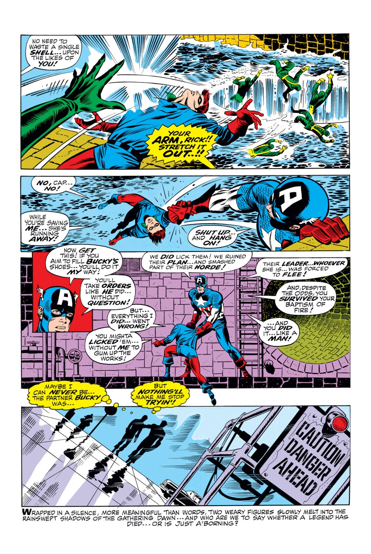 Read online Captain America (1968) comic -  Issue #110 - 20
