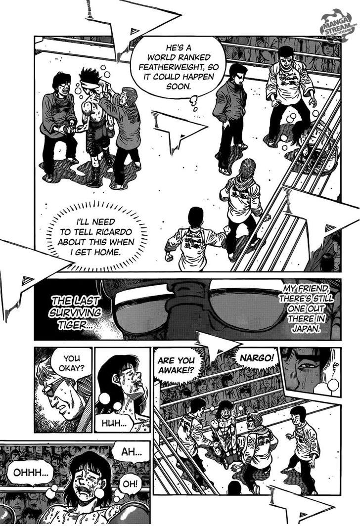 Hajime no Ippo - Chapter 1092