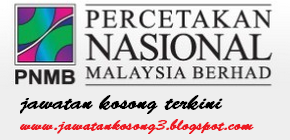 Jawatan Kosong PNMB