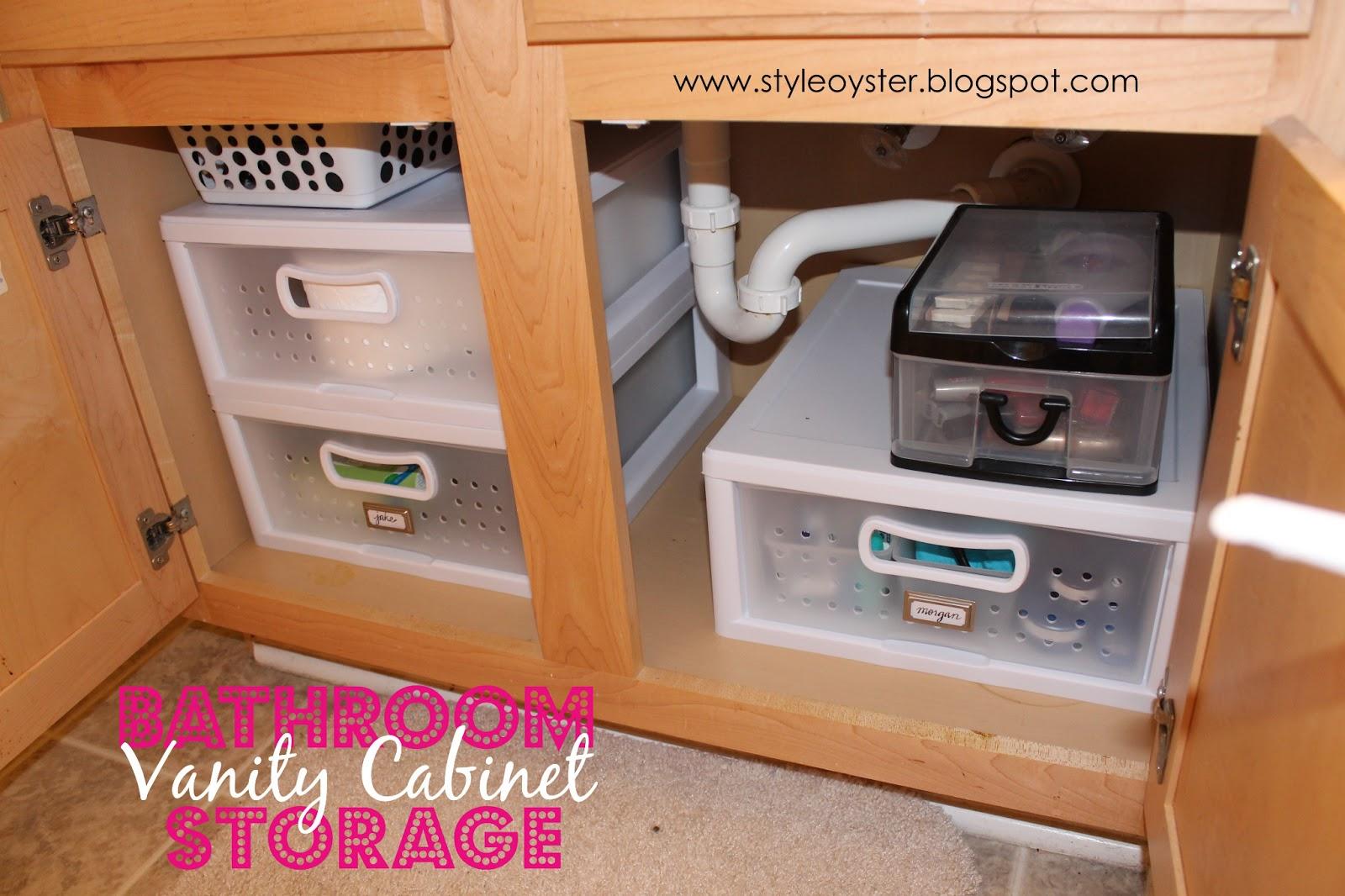 California To Carolina Bathroom Vanity Cabinet Storage