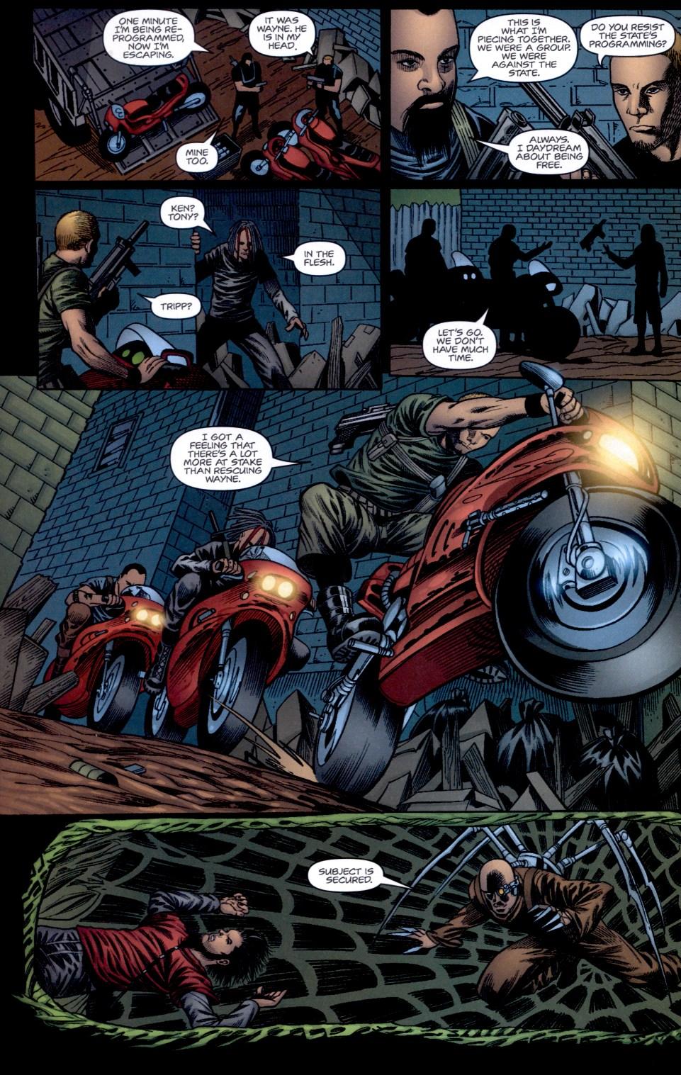 Read online Static-X: Machine comic -  Issue # Full - 14