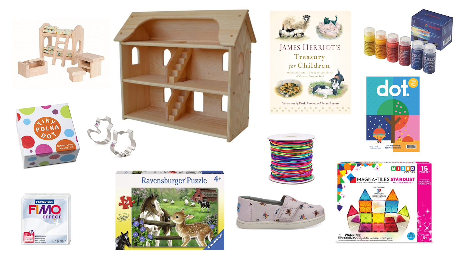 Montessori friendly gift lists for our family 2018 including joint gifts and stocking stuffers