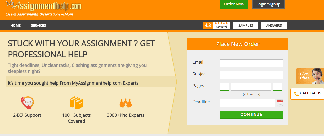 myassignmenthelp reviews You have to send details for your assignment before you get a quote from myassignmenthelpcom is it worth it we tested it we share info in this review.