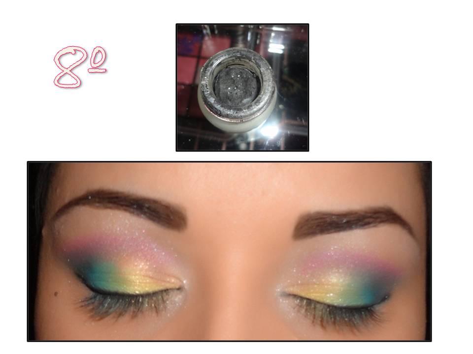 Love Makeup  Maquiagem Passo a Passo  Amarelo, Azul, Preto e Rosa e3e932ca6f