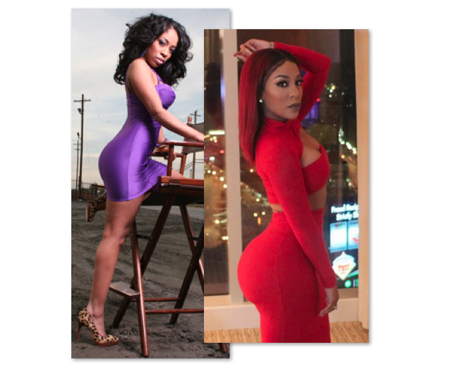 K. Michelle Before And After - Plastic Surgery K Michelle Before And After