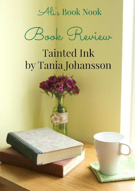 tainted ink book review tania johansson