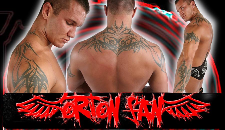 Randy orton tattoo | Randy orton