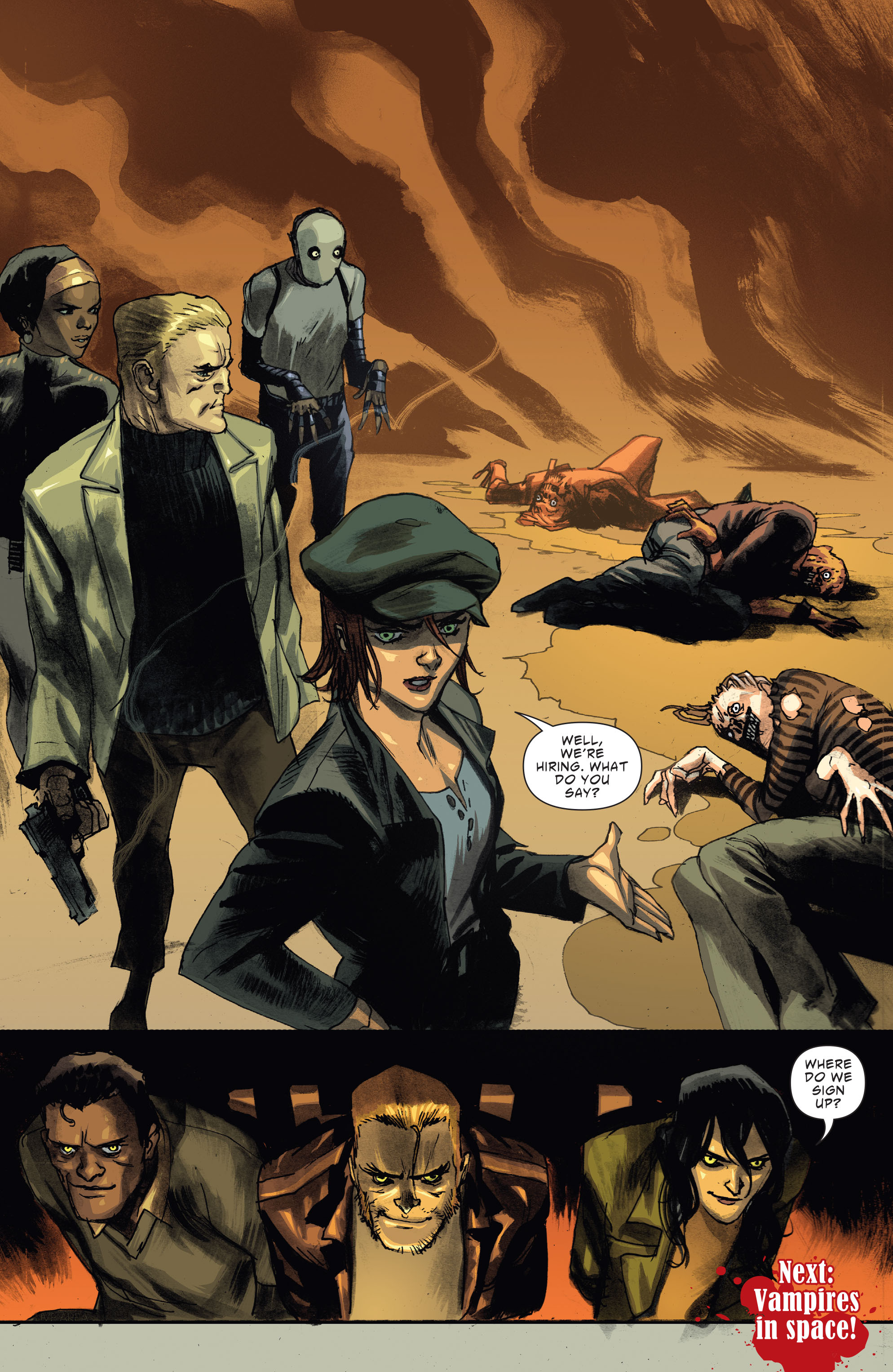 Read online American Vampire: Second Cycle comic -  Issue #6 - 21