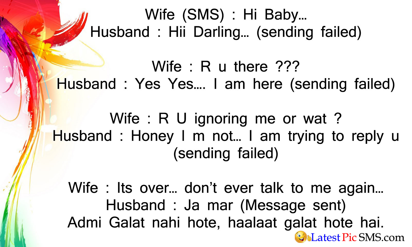 wife husband funny jokes quotes
