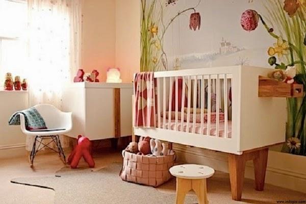 Une jolie Chambre bébé contemporaine