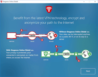 Steganos Online Shield VPN 2 GB data transfer V1.6.3 (3 devices/1 year license)