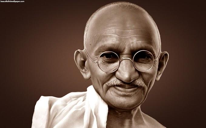 Tujuh Pantangan Hidup dari Mahatma Gandhi