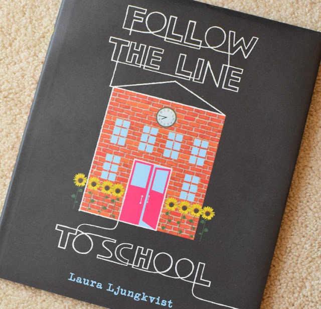 Follow The Line To School, part of reading roundup- favorite books from June