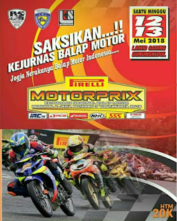 Kejurnas MotoPrix Region 2 Putaran 3 Wonosari 12-13 Mei 2018