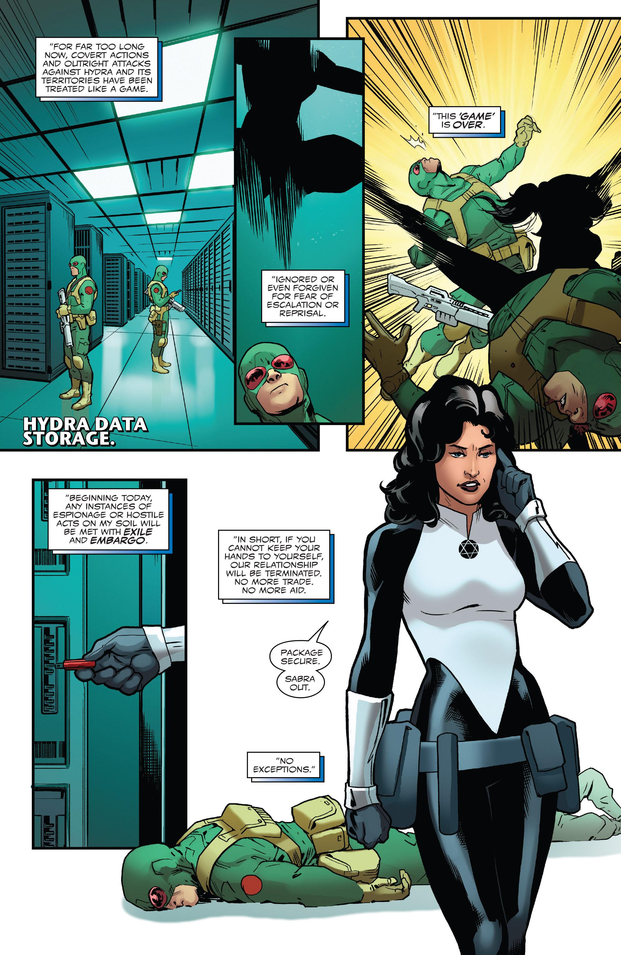 Read online Captain America: Steve Rogers comic -  Issue #18 - 10