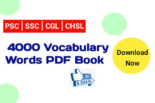 4000 Vocabulary Word Book PDF