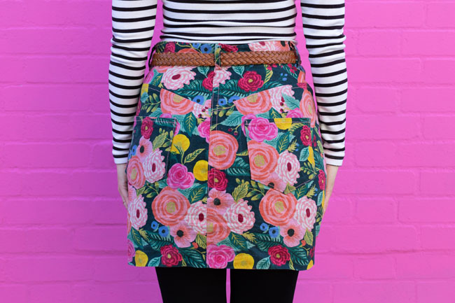Tilly's Rifle Paper Co Ness Skirt - Tilly and the Buttons